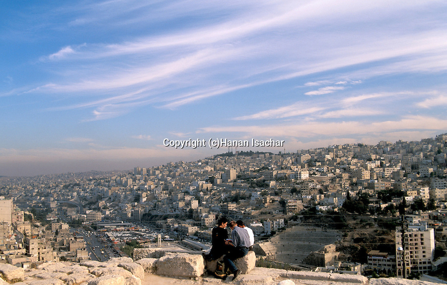 Jordan, a view of Amman as seen from the Citadel Hill&#xA;<br />