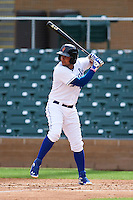 Surprise Saguaros shortstop Ramon Torres (1) at bat during an Arizona Fall League game against the Salt River Rafters on October 20, 2015 at Salt River Fields at Talking Stick in Scottsdale, Arizona.  Surprise defeated Salt River 3-1.  (Mike Janes/Four Seam Images)