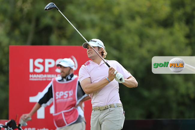 Peter Uihlein (USA) during Round Three at the 2013 ISPS Handa Wales Open from the Celtic Manor Resort, Newport, Wales. Picture:  David Lloyd / www.golffile.ie