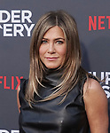 "Jennifer Aniston 058 arrives at the LA Premiere Of Netflix's ""Murder Mystery"" at Regency Village Theatre on June 10, 2019 in Westwood, California"