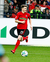 Lukas KUEBLER (KUEBLER), SCF ,   , Fussball, 1. Bundesliga  2017/2018<br /> <br />  <br /> Football: Germany, 1. Bundesliga, SC Freiburg vs Bayer 04 Leverkusen, Freiburg, 03.02.2018 *** Local Caption *** © pixathlon<br /> Contact: +49-40-22 63 02 60 , info@pixathlon.de