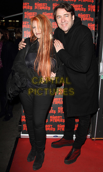 LONDON, ENGLAND - FEBRUARY 27:  Jane Goldman and Jonathan Ross attends the 'Ghost Stories' Press Night at the Arts Theatre on February 27, 2014 in London, England.<br /> CAP/ROS<br /> &copy;Steve Ross/Capital Pictures