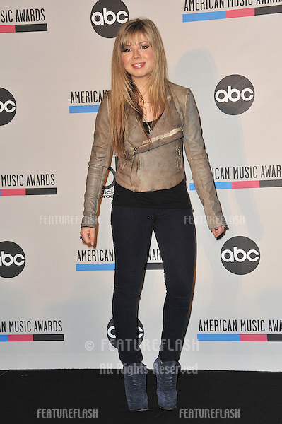 Jennette McCurdy at the nominations announcement for the 2010 American Music Awards at the JW Marriott at L.A. Live..October 12, 2010  Los Angeles, CA.Picture: Paul Smith / Featureflash