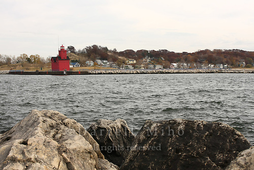 Nov. 08, 2008; Holland, MI - Holland Harbor Lighthouse, South Pier...Photo credit: Darrell Miho