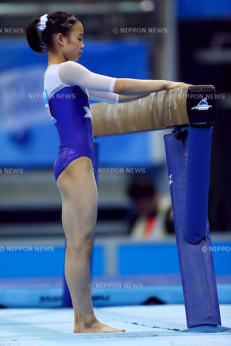 Sae Miyagawa (JPN), <br /> August 18, 2014 - Artistic Gymnastics : <br /> Girls' Individual All-Around Qualification Balance Beam <br /> at Nanjing Olympic Sports Center  <br /> (Photo by AFLO SPORT)