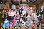 40 hugs.-------.Kathleen Wall-Sheehy,Ballinorig,Tralee(seated centre)had a magnificent night in the Grand hotel,Tralee celebrating her 40th birthday along with many friends and family.