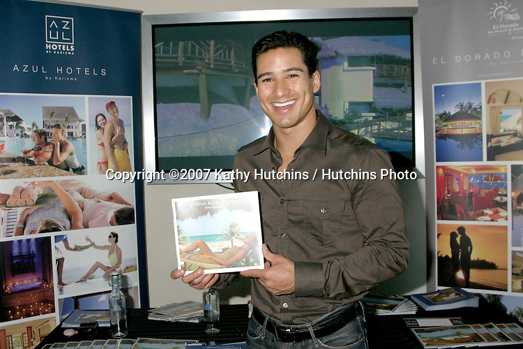 Mario Lopez.GBK Emmy Gifting Suite.Hollywood Roosevelt Hotel.Los Angeles,  CA.September 13, 2007.©2007 Kathy Hutchins / Hutchins Photo...