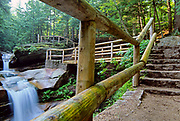 Sabbaday Falls, which is near the Kancamagus Highway (route 112), in the White Mountain National Forest of New Hampshire.