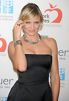 Cameron Diaz attends a promotional event for TAG Heuer - New York
