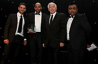 The father of Cordelia Griffith collects her women player of the year award during the Essex CCC 2017 Awards Evening at The Cloudfm County Ground on 5th October 2017
