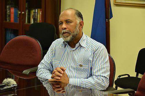 Eduardo Hidalgo, presidente de la ADP y diputado por el gubernamental Partido de la Liberación Dominicana (PLD).