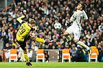 Borussia Dortmund Marcel Shmeizer, Real Madrid's Carlos Henrique Casemiro  during Champions League match between Real Madrid and Borussia Dortmund  at Santiago Bernabeu Stadium in Madrid , Spain. December 07, 2016. (ALTERPHOTOS/Rodrigo Jimenez)