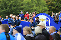 Graeme McDowell Europe tees off the 11th tee during Tartan Tuesday's Practice day of the Ryder Cup 2014 played on the PGA Centenary Course at the Gleneagles Hotel, Auchterarder, Scotland.: Picture Eoin Clarke, www.golffile.ie: 23rd September 2014