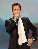Singer / songwriter Marc Anthony sings the National Anthem at the 2012 Democratic National Convention in Charlotte, North Carolina on Thursday, September 6, 2012.  .Credit: Ron Sachs / CNP.(RESTRICTION: NO New York or New Jersey Newspapers or newspapers within a 75 mile radius of New York City)