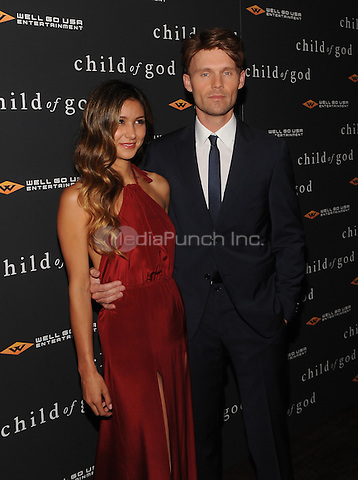 New York,NY-JULY 30: Elissa Shay, Scott Haze attends the 'Child Of God' premiere at Tribeca Grand Hotel in New York on July 30, 2014 . Credit: John Palmer/MediaPunch
