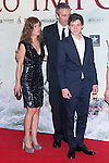 08.10.2012. The film team attends the premiere of Kinepolis Cinema in Madrid of the movie 'The Impossible'. Directed by Juan Antonio Bayona and starring by  Naomi Watts and Tom Holland. In the image Marta Etura and  Tom Holland  (Alterphotos/Marta Gonzalez)