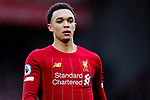Trent Alexander-Arnold of Liverpool during the Premier League match at Anfield, Liverpool. Picture date: 1st February 2020. Picture credit should read: James Wilson/Sportimage