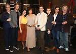 """Moises Kaufman, Ward Horton, Roxanna Hope Radja, Mercedes Reuhl, Michael Urie, Jack DiFalco,  Michael Hsu Rosen and Harvey Fierstein attend the Broadway cast photo call for """"Torch Song"""" at the Hayes Theatre on September 20, 2018 in New York City."""