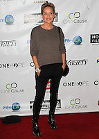 HOLLYWOOD, LOS ANGELES, CA, USA - OCTOBER 16: Sharon Stone arrives at the 2014 Hollywood Film Festival - Opening Night Gala held at ArcLight Hollywood on October 16, 2014 in Hollywood, Los Angles, California, United States. (Photo by Celebrity Monitor)