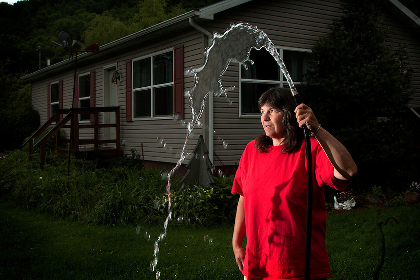 "Susie Breese has a house in Lenox, Pennsylvania. Her water turned black soon after fracking in her area, as did all her neighbours, and it is now unusable. She has barium levels more than double the acceptable limit. The miners told her this could be a naturally occuring phenomenon unrelated to fracking, and ""anyway, it's up to you to prove that we did it""."
