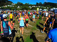 The 2017 Cigna Achilles Round The Bays half marathon, Bluebridge 10km and Fun Run & Walk. From Frank Kitts Park to Kilbirnie Park in Wellington, New Zealand on Sunday, 18 February 2018. Photo: Dave Lintott / lintottphoto.co.nz