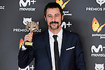 Hugo Silva win the award at Feroz Awards 2017 in Madrid, Spain. January 23, 2017. (ALTERPHOTOS/BorjaB.Hojas)