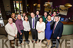 Dick and Eileen Henggeler with the  Kerry Rose  Team at  the Fels Point Hotel Tralee on Thursday after the official welcome