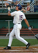 August 14, 2003:  Christian Snaverly of the Auburn Doubledays, Class-A affiliate of the Toronto Blue Jays, during a game at Falcon Park in Auburn, NY.  Photo by:  Mike Janes/Four Seam Images