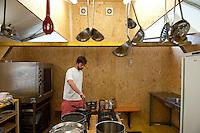 Bungee a Swiss IST make a Röschti. (Patrik Tanner/TPA/EQ Images)