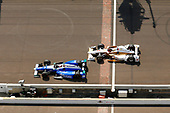 Verizon IndyCar Series<br /> Indianapolis 500 Race<br /> Indianapolis Motor Speedway, Indianapolis, IN USA<br /> Sunday 28 May 2017<br /> Takuma Sato, Andretti Autosport Honda and Helio Castroneves, Team Penske Chevrolet<br /> World Copyright: Russell LaBounty<br /> LAT Images
