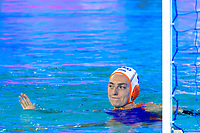 4 VAN DER SLOOT Catharina NED <br /> NED - GRE Netherlands (white caps) vs. Greece (blue caps) <br /> Barcelona 27/07/2018 Piscines Bernat Picornell <br /> Women Final 1st 2nd place <br /> 33rd LEN European Water Polo Championships - Barcelona 2018 <br /> Photo Andrea Staccioli/Deepbluemedia/Insidefoto