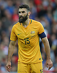 Mile Jedinak of Australia during the International Friendly match at the Stadium of Light, Sunderland. Photo credit should read: Simon Bellis/Sportimage