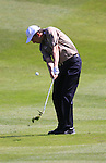 Peter Lawrie on the 5th hole during Round 3 of the BMW PGA Championship at  Wentworth, Surrey, England, 22nd May 2010...Photo Golffile/Eoin Clarke.(Photo credit should read Eoin Clarke www.golffile.ie)....This Picture has been sent you under the condtions enclosed by:.Newsfile Ltd..The Studio,.Millmount Abbey,.Drogheda,.Co Meath..Ireland..Tel: +353(0)41-9871240.Fax: +353(0)41-9871260.GSM: +353(0)86-2500958.email: pictures@newsfile.ie.www.newsfile.ie.