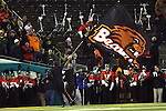 The Beavers fans celebrate after a touchdown..Photo by Jaime Valdez
