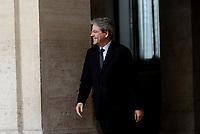 Roma, 20 Marzo 2017<br /> Il presidente del Consiglio Paolo Gentiloni riceve a Palazzo Chigi il Primo Ministro libico.