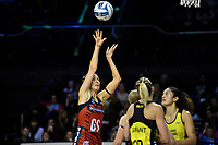 Tactix&rsquo; Kate Beveridge in action during the ANZ Premiership - Pulse v Tactix at TSB Arena, Wellington, New Zealand on Monday 14 May 2018.<br /> Photo by Masanori Udagawa. <br /> www.photowellington.photoshelter.com