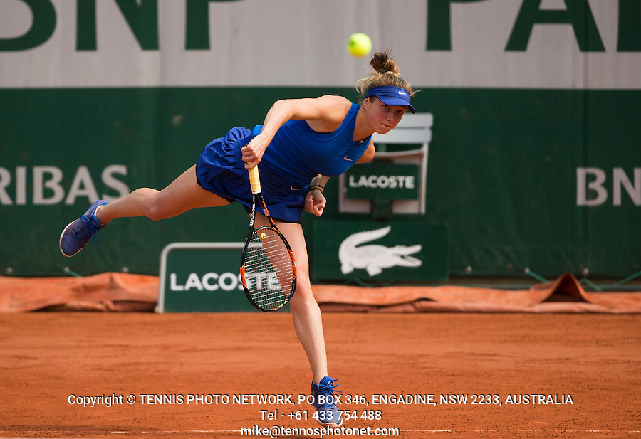 ELINA SVITOLINA (UKR)<br /> <br /> TENNIS - FRENCH OPEN - ROLAND GARROS - ATP - WTA - ITF - GRAND SLAM - CHAMPIONSHIPS - PARIS - FRANCE - 2016  <br /> <br /> <br /> <br /> &copy; TENNIS PHOTO NETWORK