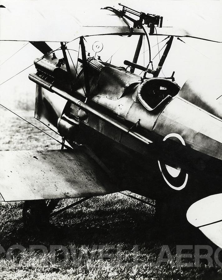 RAF SE5A. Royal Aircraft Factory World War One fighter aircraft.