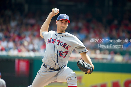 New York Mets against the Washington Nationals at Nationals Park in Washington, D.C. on Tuesday, July 4, 2017.  <br /> Credit: Ron Sachs / CNP<br /> (RESTRICTION: NO New York or New Jersey Newspapers or newspapers within a 75 mile radius of New York City)
