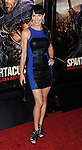 "Amie Barsky at the LA Premiere of ""Spartagus War Of The Damned"" held at Regal Cinemas L.A. LIVE January 22, 2013"