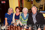 Pictured at the launch of the 7th Annual Gary McMahon Singing Weekend, last Friday night in The Ramble Inn, Abbeyfeale was l-r: Peg Moloney(Melbourne), Breda Culhane(Glin), Peg Kelly(Templeglantine) and John Sexton(Cork).