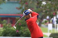 Gregory Havret (FRA) on the 7th tee during Round 1 of the UBS Hong Kong Open, at Hong Kong golf club, Fanling, Hong Kong. 23/11/2017<br /> Picture: Golffile | Thos Caffrey<br /> <br /> <br /> All photo usage must carry mandatory copyright credit     (&copy; Golffile | Thos Caffrey)