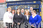 The new team at North's Real Estate Alliance, Josephine Murphy, Kieran Kelly, Pauline Barrett, Eddie Barrett and Doireann Barrett, MD.   Copyright Kerry's Eye 2008