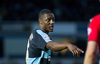 Anthony Stewart of Wycombe Wanderers during the Sky Bet League 2 match between Wycombe Wanderers and Crawley Town at Adams Park, High Wycombe, England on 28 December 2015. Photo by Andy Rowland / PRiME Media Images