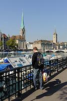 Am Limmatquai, Zürich, Schweiz