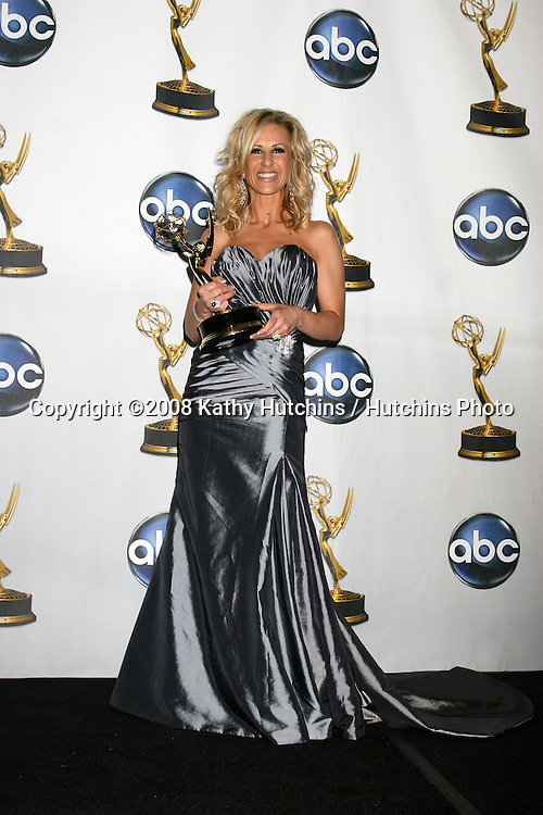 Cristina Perez  in the Press Rom after her show won an Emmy  for Outstnading Legal Show at the Daytime Emmys 2008 at the Kodak Theater in Hollywood, CA on.June 20, 2008.©2008 Kathy Hutchins / Hutchins Photo .