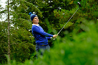 Geoff Lenehan (Munster) during final day foursomes at the Interprovincial Championship 2018, Athenry golf club, Galway, Ireland. 31/08/2018.<br /> Picture Fran Caffrey / Golffile.ie<br /> <br /> All photo usage must carry mandatory copyright credit (© Golffile | Fran Caffrey)