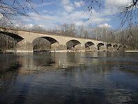 Bridge over the Schuylkill River near Douglassville, Pa