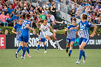 Boston, MA - Friday August 04, 2017: Shea Groom during a regular season National Women's Soccer League (NWSL) match between the Boston Breakers and FC Kansas City at Jordan Field.