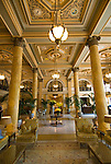 Washington DC; USA: Lobby of The Willard InterContinental Hotel, 1401 Pennsylvania Avenue.Photo copyright Lee Foster Photo # 23-washdc82446